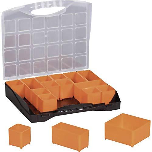 Preisvergleich Produktbild Alutec Sortimentskoffer (L x B x H) 300 x 255 x 54mm Anzahl Fächer: 16 Variable Unterteilung