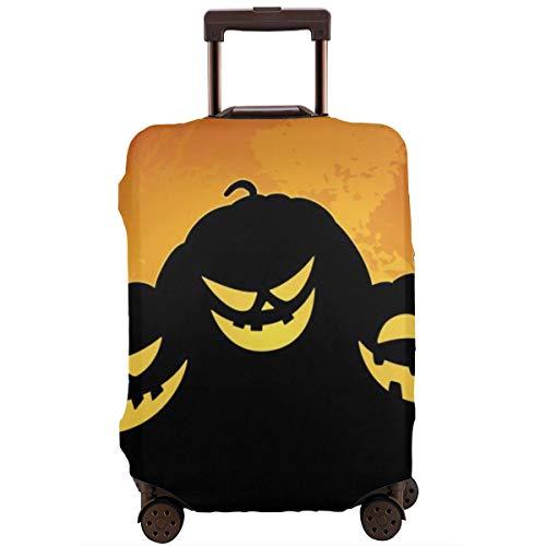 Funda Protectora de Maleta Happy Halloween Smile Pumpkin Travel Suitcase Protector XL