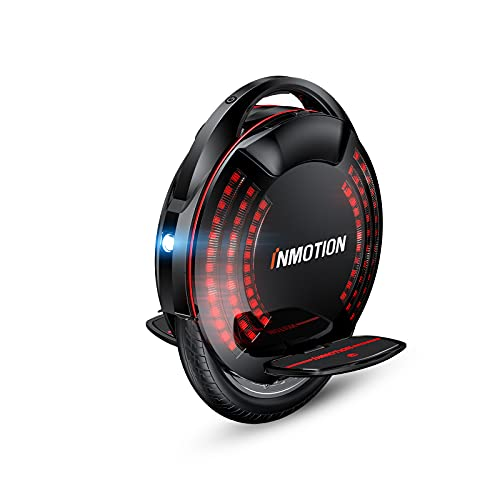 InMotion V8F Electric Unicycle, 16-inch One-Wheel Electric Unicycle for Adults, Smart...