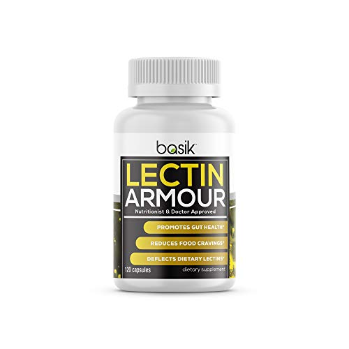 Basik Nutrition Lectin Armour Supplement (120 Capsules)