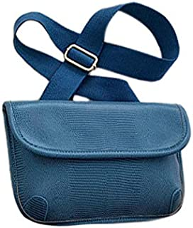 TOOGOO Women'S Chest Bag Wild Casual Pockets Pu Pockets Shoulder Messenger Phone Bag Khaki