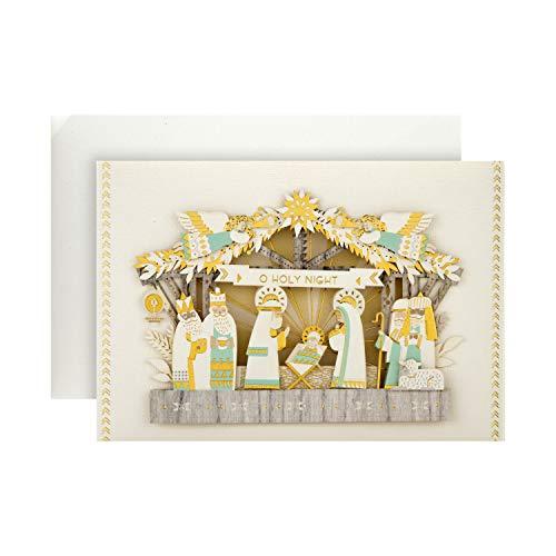 Hallmark - Biglietto di Natale religioso