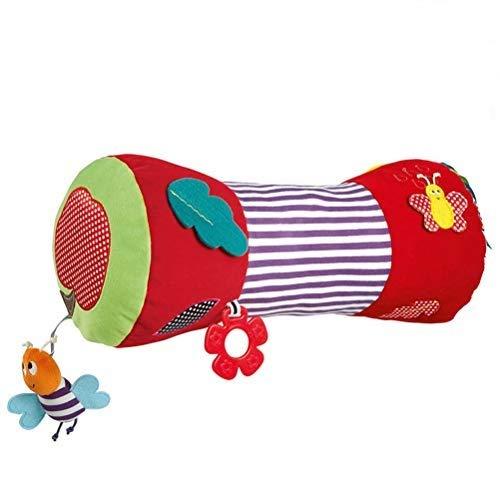 Excras Baby Krabbelrolle, multifunktional, weich, gefüllt, Rollkissen für Babys, Fitness-Spielzeug