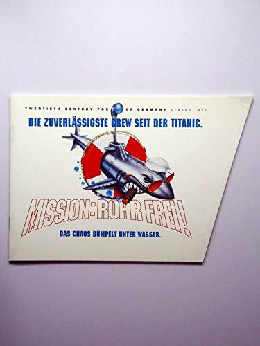 Mission: Rohr Frei! - Lauren Holly - Kelsey Grammer - Rob Schneider - Presseheft