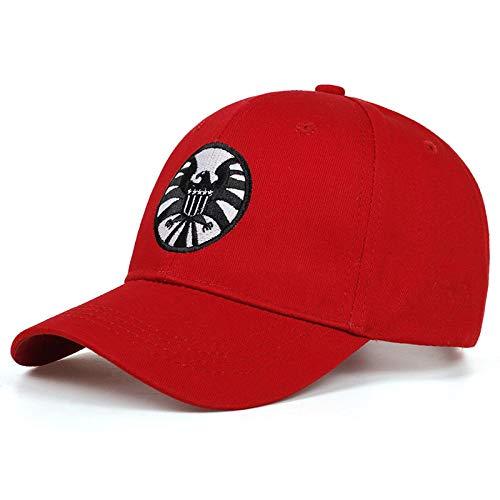 Baseball Kappe Snapback Cap HutCaptain Caps Unisex Einstellbarer Hip Hop Sonnenhut Agenten Von Shield Baseball Caps Red