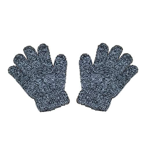 Pour les loisirs Gants dhiver Pour les loisirs Gants en laine Moufles pour enfants