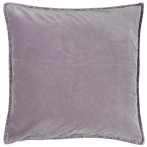 IB Laursen Kissenhülle SAMT Lavender Velour Kissen 50x50 Kissenbezug Lila
