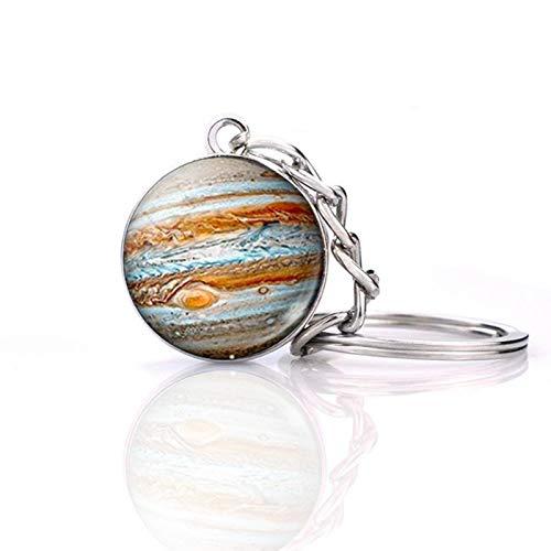 Jupiter Glow in the Dark Keychain