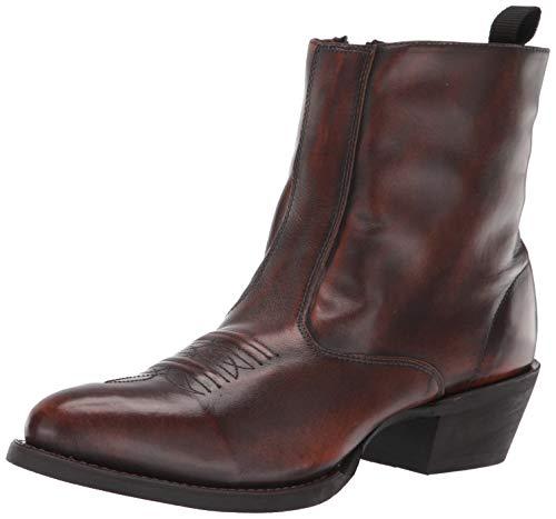 Laredo Mens Fletcher Round Toe Boots Ankle - Tan - Size 12 D