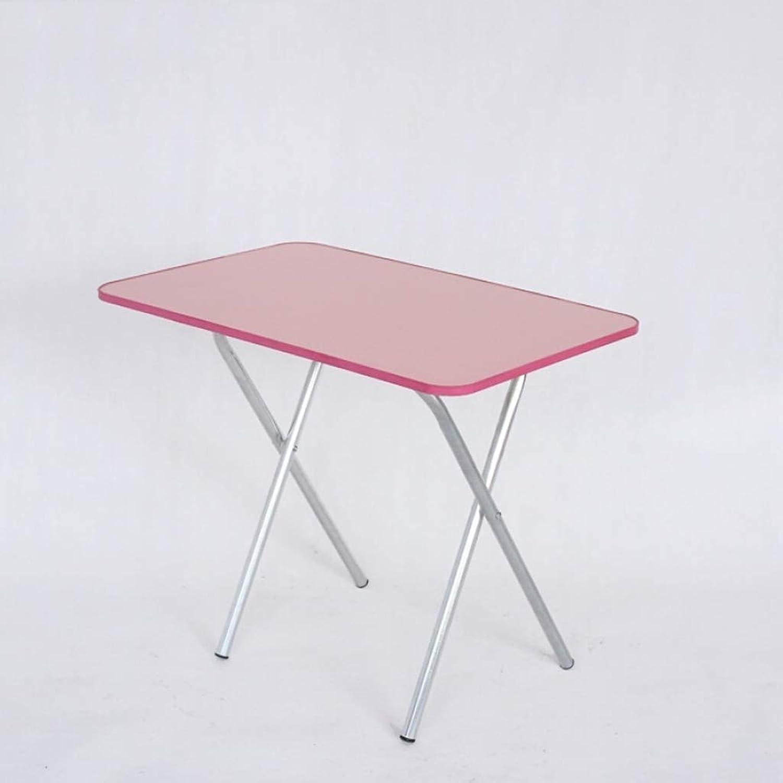 HQCC Ergonomic Folding Home Table, Portable Dining Table, Multi-Function Square Table, (White 60cm40cm55cm) (color   Black)