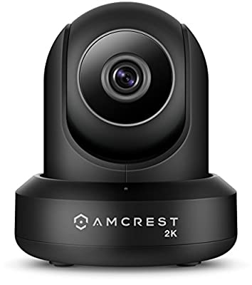 Amcrest UltraHD 2K WiFi Video Security IP Camera w/Pan/Tilt, Dual Band 5ghz/2.4ghz, Two-Way Audio, 3-Megapixel @ 20FPS, Wide 90° Viewing Angle & Night Vision (Certified Refurbished)