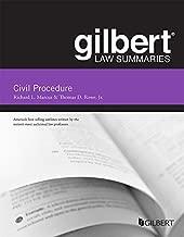 Gilbert Law Summary on Civil Procedure (Gilbert Law Summaries)