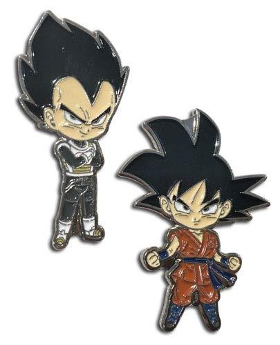 Dragon Ball Super Goku & Vegeta Anime Emaille Pin