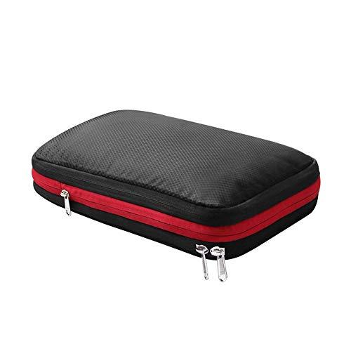 「在庫セール」圧縮バッグ 旅行圧縮グッズ 圧縮袋 ブラック 17L