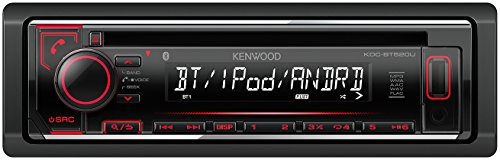 Kenwood Electronics KDC-BT520U 88W Bluetooth Zwart autoradio