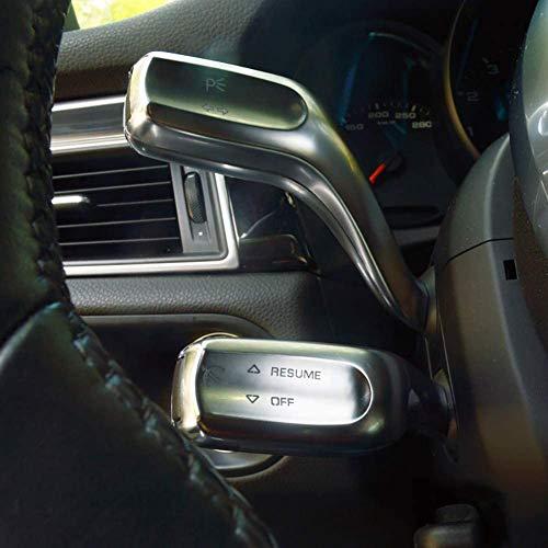 NBPLUS Embellecedor para limpiaparabrisas de coche, cromado, 6 piezas, para Porsche Macan 2014 – 18 / Cayenne 2011 – 16 / Panamera 2010 – 16, Paramera2010 – 2016