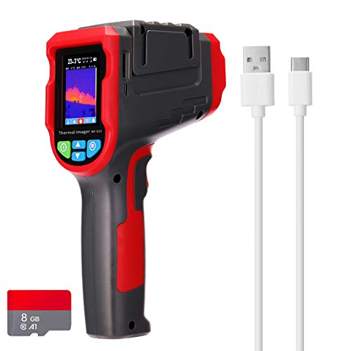 KKmoon Termocamera NF-521 Termocamera a Infrarossi Display Digitale Imaging Termico Risoluzione 32 * 32 Rilevatore di Riscaldamento