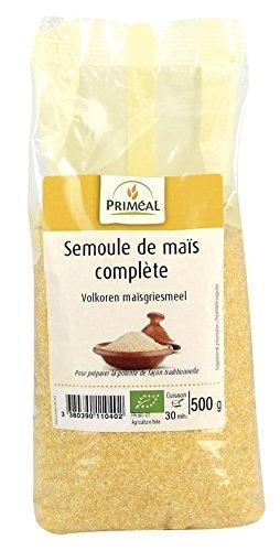 Priméal - BIO - Semoule de Maïs Complète 500 g
