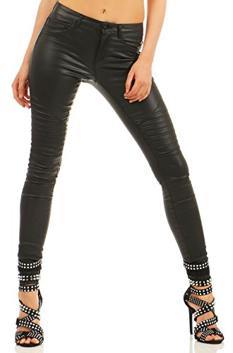 ONLY Female Skinny Fit Jeans Onlnew royal Coated Biker XS34Black