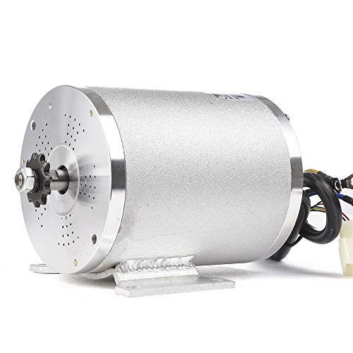 MY1020 2500W 60V Electric Brushless DC Motor Kit,MId Drive Motors,With Foot Stand Bracket,For Electric Scooter E-Bike Conversion Kit, DIY Engine Accessories(60V2500W Foot Motor Only)