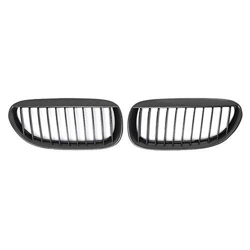 VVDM Parrilla Frontal de riñón, por-BMW 6 Series E63 E64 LCI M6 630 645 650 Coupé 2DR Fibra de Carbono