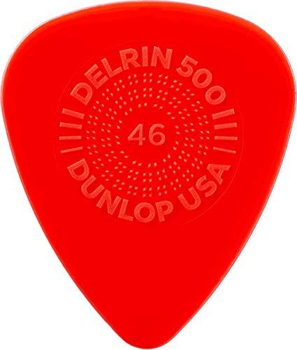 Jim Dunlop Delrin 500 Prime Grip .46mm Guitar Picks (450P.46)