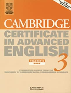 Best cambridge certificate in advanced english 3 Reviews