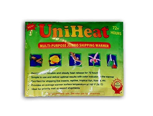 Uniheat 10 Pack 72 Hour Heat Pack  for Baby Chicks Plants Fish and Retiles