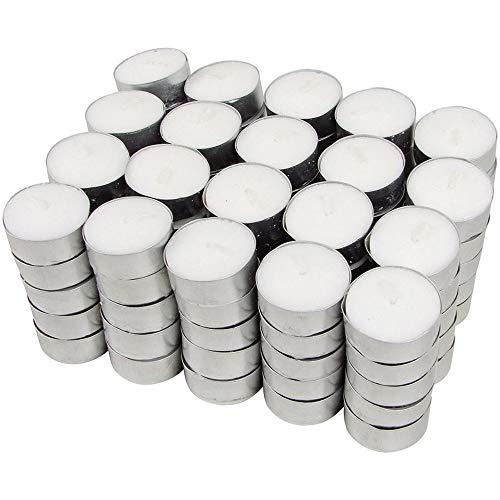 Hillfield 2 X 100 Marken Teelichter 4-Sunden - Brenner im Flatpack / Beutel , Ø 38 mm