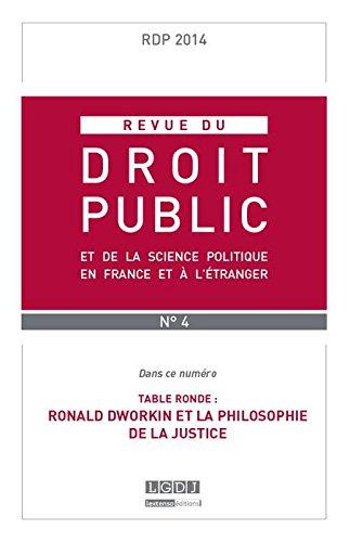 REVUE DU DROIT PUBLIC N 4 2014 (RDP)