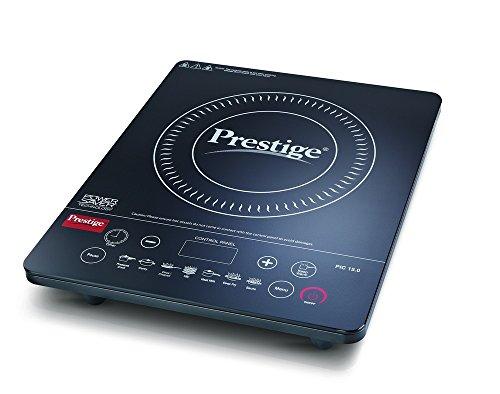 Prestige PIC 15.0+ 1900-Watt Induction Cooktop, Black
