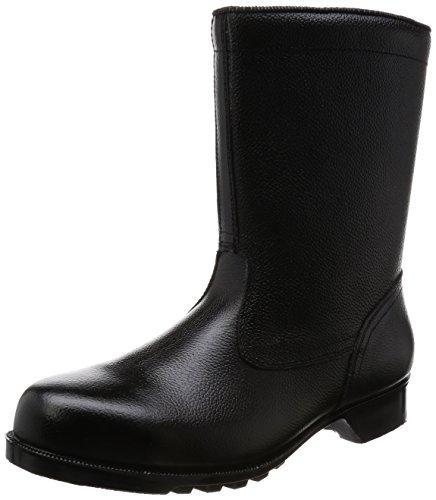 [ミドリ安全] 静電安全靴 JIS規格 半長靴 V2400N 静電 メンズ ブラック 28