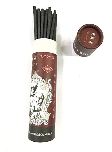 Chrome Willow 25 Pc's Charcoal Compressed Sticks Pencils Sketch Drawing Art Charcoal Artist Painting