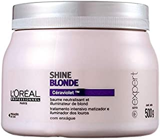 Máscara Matizadora L'Oréal Profissional Shine Blonde 500g