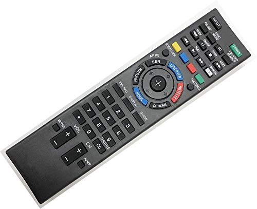 SccKcc Fernbedienung für Sony Smart LED HDTV Fernseher mit 3D-Taste, Discover & Netflix-Taste (1-492-766-11)