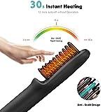 Zoom IMG-2 spazzola lisciante per capelli stira