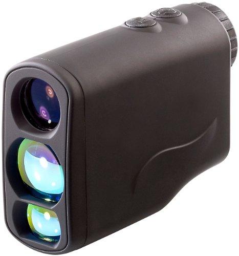Zavarius Laser Entfernungsmesser: Laser-Entfernungs- und Geschwindigkeitsmesser, 6x21 (Distanzmessgerät)