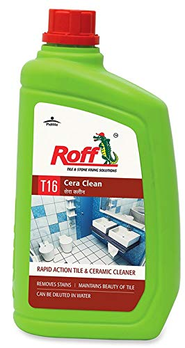 Pidilite T16 Roff Cera Clean Professional Tile, Floor and Ceramic Cleaner (1 Litre) - Concentrated liquid for tough stains - Any Surface