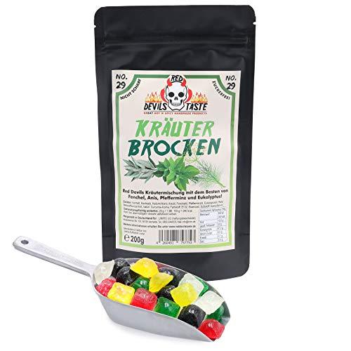 Kräuterbrocken - Kräuter Bonbons zuckerfrei - nicht scharf - Hotskala: 0