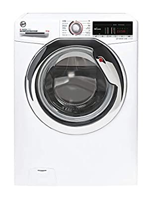 Hoover H-Wash 300 H3WS485TACE Free Standing Washing Machine, WiFi Connected, 8 kg, 1400 rpm, White
