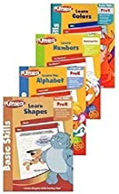Playskool Pre-K Activity Workbooks, Set of 4 - Learn the Alphabet, Learn Counting, Learn Shapes, Learn Colors