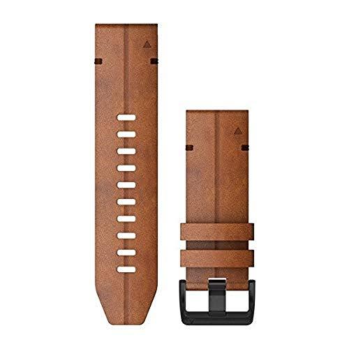Garmin QuickFit 26 correas de reloj - Cuero castaño
