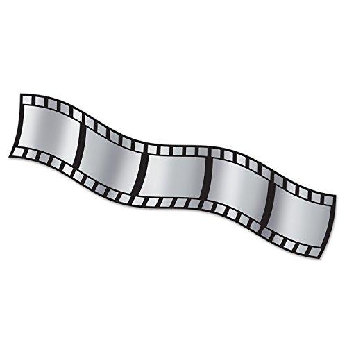 Beistle Filmstrip Matériau de décoration métallique, 15\