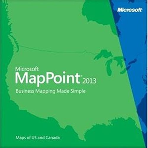 Vollversion MapPoint 2013 European Maps/ Windows / deutsch / DVD [import allemand]