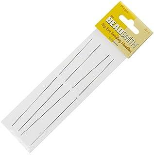 Sharplace 5 St/ück Perlen Nadeln F/ädelnadeln Handnadeln f/ür Schmuckherstellung 0,4 mm