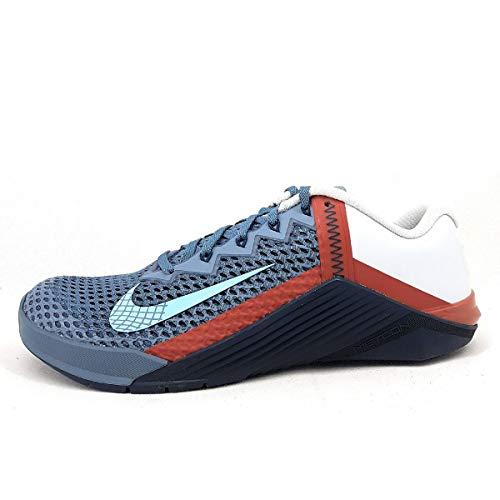 Nike Metcon 6, Zapatillas para Correr Hombre, Ozone Blue Aqua Pure-Navaja, 42.5 EU