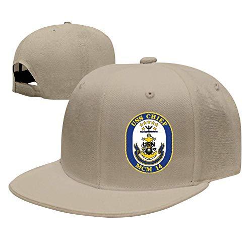 SuyuttiER USS Chief MCM-14 Baseball Cap Adjustable Trucker Hat Dad Hat