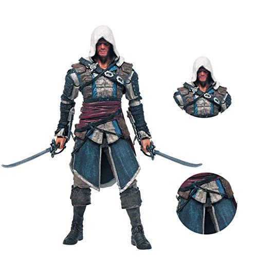 Xuda anime Figur Edward Kenway Assassins Creed IV Figuras Figma Action Figure sammelbare Abbildung 20 cm