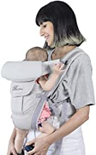 Baby Carrier Wrap Newborn to Toddler, FEEMOM 6-in-1 Kangaroo Baby Carrier Backpack Front and Back for Dad and Mom, 0-36 Months