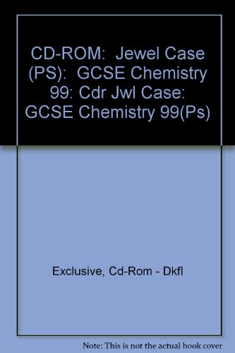 Cdr Jewel Case: GCSE Chemistry 1999 (Ps)
